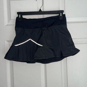 Lululemon full tilt reflective skirt skort short